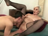 Lusty Grandmas get their pussies licked in this Compilation  by Reno78